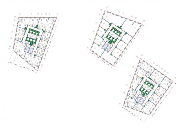 План 5 этажа.Жукова 11/ Wellton Towers