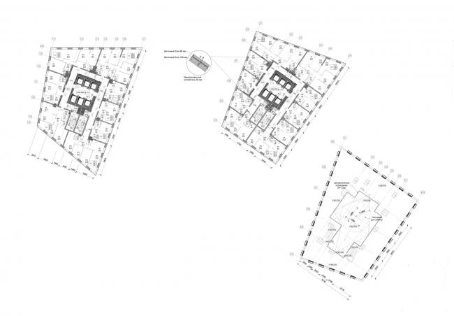 План в уровне 51 этажа. Жукова 11 / Wellton Towers