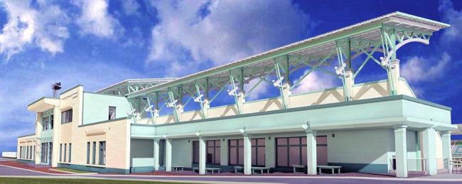 Реконструкция стадиона «Металлург» в Ступино