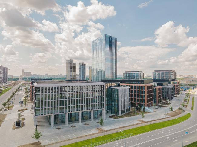 Бизнес-Парк «Ростех-Сити» в Москве. SOM
