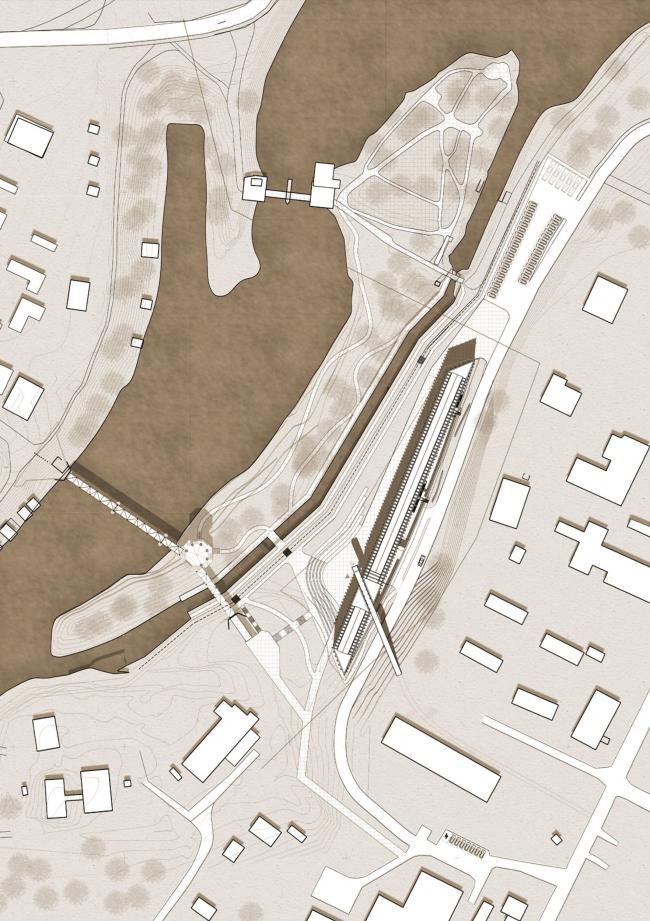 Музейный комплекс «Водные пути Севера». Генеральный план