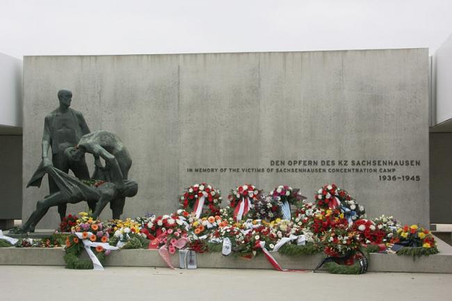 Мемориальный комплекс «Станция Z» в бывшем концлагере Заксенхаузен. Фото: Sally Scott via Wikimedia Commons. Фото находится в общем доступе