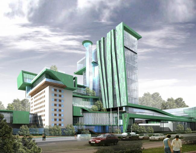 Реконструкция территории завода «Элара» в г. Чебоксары © Архитектурное бюро Асадова