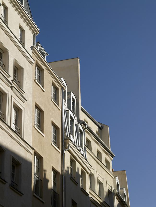 Универмаг La Samaritaine – реконструкция. Исторический корпус с социальным жильем