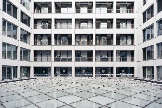 Универмаг La Samaritaine – реконструкция. Атриум Журден, куда выходят квартиры