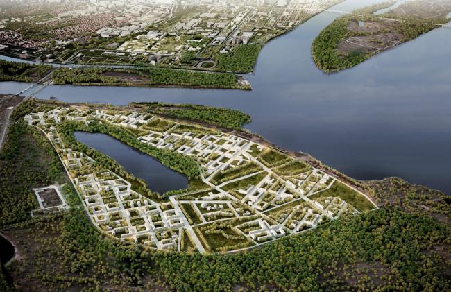 Общественно-деловой кластер. Мастер-план Астраханской агломерации, проект-победитель конкурса, 2021