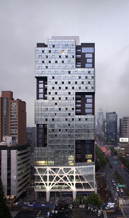 Mass Studies. Многофункциональный комплекс Missing Matrix в Сеуле