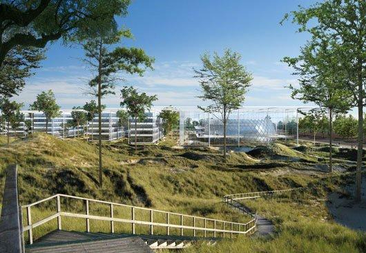 Проект Ingenhoven Architects. 1-е место
