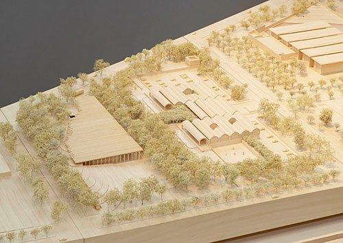 Музей искусств Кимбелла – новый корпус © Renzo Piano Building Workshop