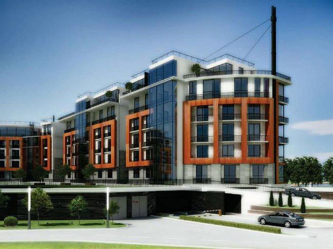 Многофункциональный комплекс The Marin Apartments