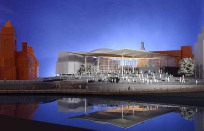 Проект здания Национальной Ассамблеи Уэльса