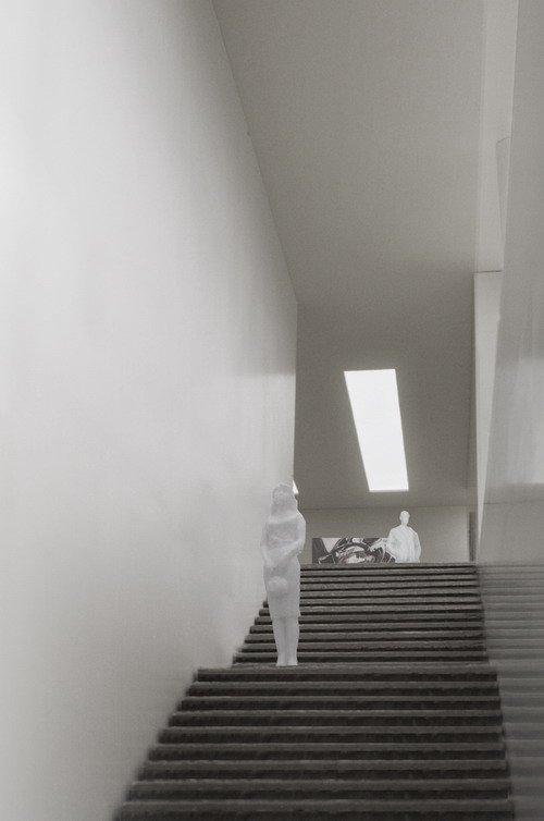 Музей Кюпперсмюле - новый корпус. Макет