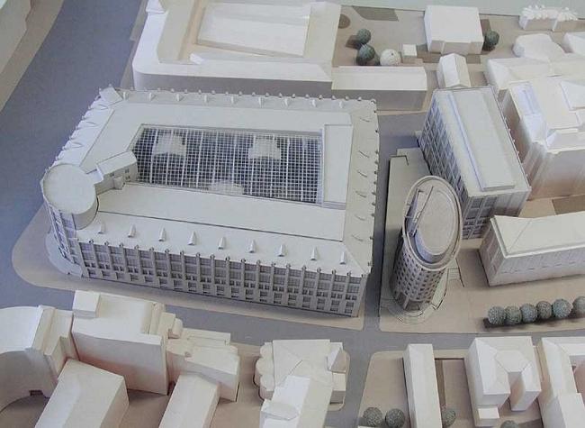 Деловой центр «Телеграф» и здание Госкомитета по телекоммуникациям