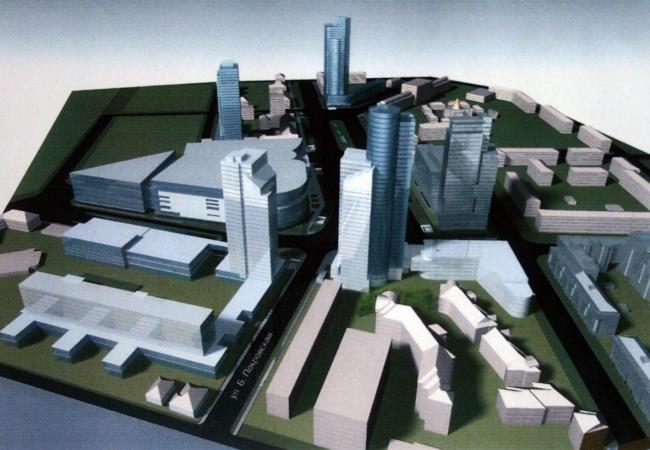 Концепция развития города в районе площади Лядова