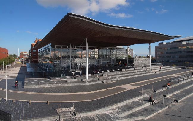 Национальная Ассамблея Уэльса. Фото: Cardiff via Wikimedia Commons. Фото находится в общественном доступе