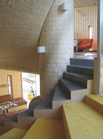 Дом Kotilo (Espoo, 2006), интерьер. Архитектор Олави Копонен