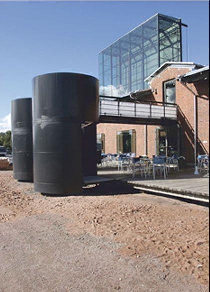 Музей и Морской центр Forum Marinum (архитектурное бюро LPR-arkkitehdit, 2002).