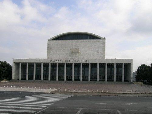 Адальберто Либера. Дворец Конгрессов, EUR. Фото Анны Вяземцевой