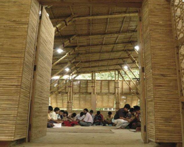 Анна Херингер. Комплекс построек в Рудрапуре, Бангладеш