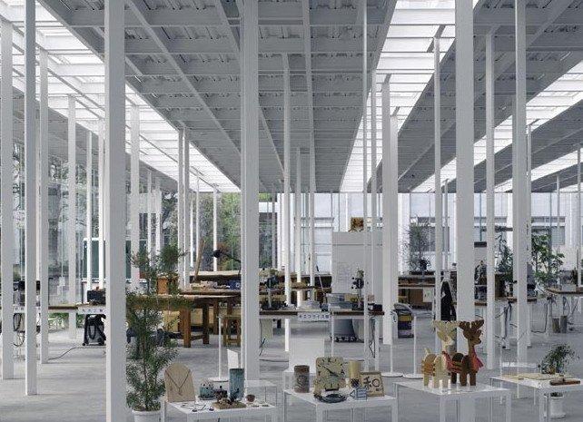 Дзюнья Исигами. Мастерская Кайто Технологического института Канагавы, Япония