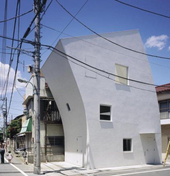 TNA. Жилой дом в Токио
