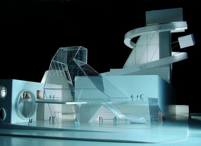 Художественная школа N 9. Проект © Coop Himmelb(l)au