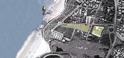 Центр океана и серфинга © Steven Holl Architects