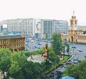Реконструкция Пушкинской площади