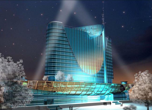 Гостинично-деловой центр «Москва», г. Астана