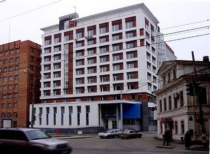 Жилой дом с офисами «Клетчатый», Нижний Новгород © Мастерская Пестова и Попова
