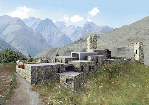 Жилой дом в селении Барзикау в Алании