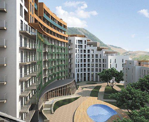 Многофункциональный комплекс – апарт-отель с жилыми домами в Геленджике