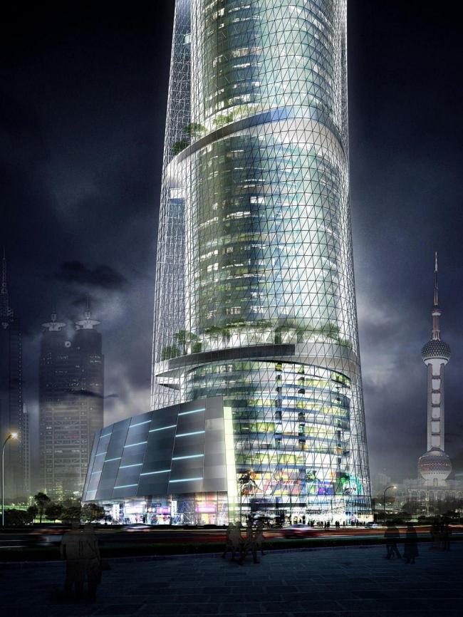 Шанхай Тауэр © Gensler