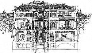 Реконструкция Русского музея в Санкт-Петербурге © Архитектурная мастерская Михаила Филиппова