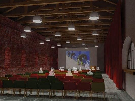 Филиал ГЦСИ в здании Арсенала в Нижнем Новгороде. Проект © Архитекторы Асс