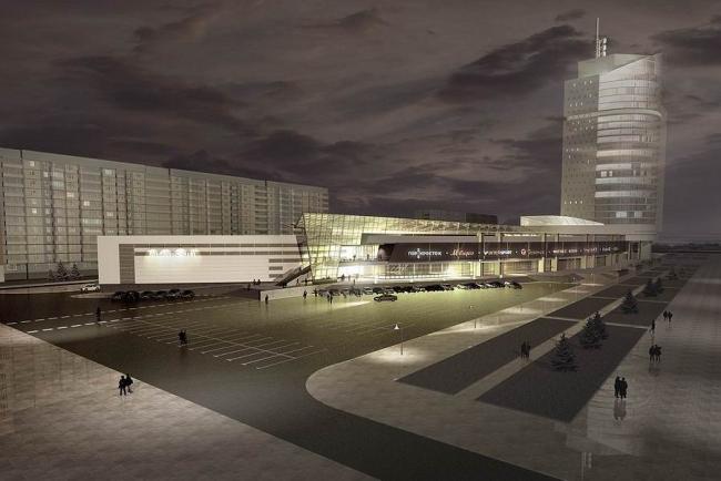 Многофункциональный комплекс «Атлантик-Сити» © Студия-17