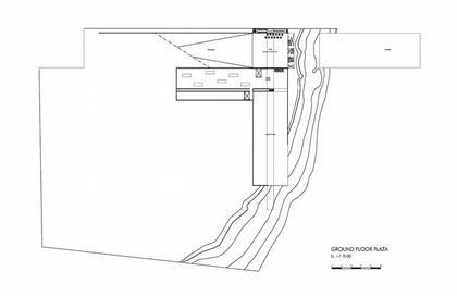 Музей Гуггенхайма. План третьего этажа