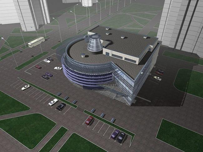Торговый центр «Галерея ZAR». Проект © ГУП МНИИП «Моспроект-4»