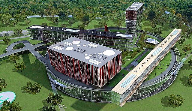 Международная школа менеджмента в Сколково  © Архитектор Дэвид Аджайе