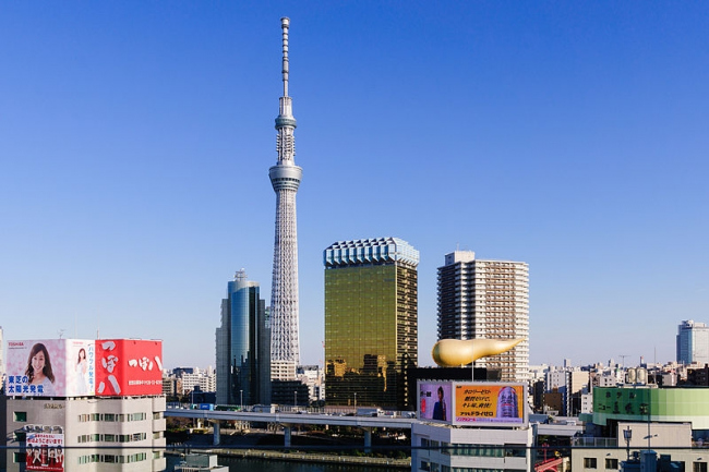 Телебашня Tokyo Sky Tree. Фото: Wei-Te Wong via Wikimedia Commons. Лицензия CC-BY-SA-2.0