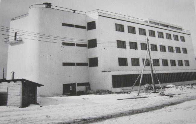 ВЭИ - Всероссийский электротехничский институт. Москва. Фото 1930 г. (МУАР)