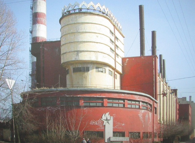Трикотажная фабрика «Красное Знамя». Санкт-Петербург