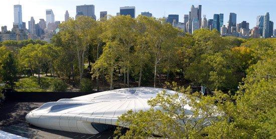 """Павильон Мобильное искусство от """"Шанель"""" в Центральном парке Нью-Йорка"""