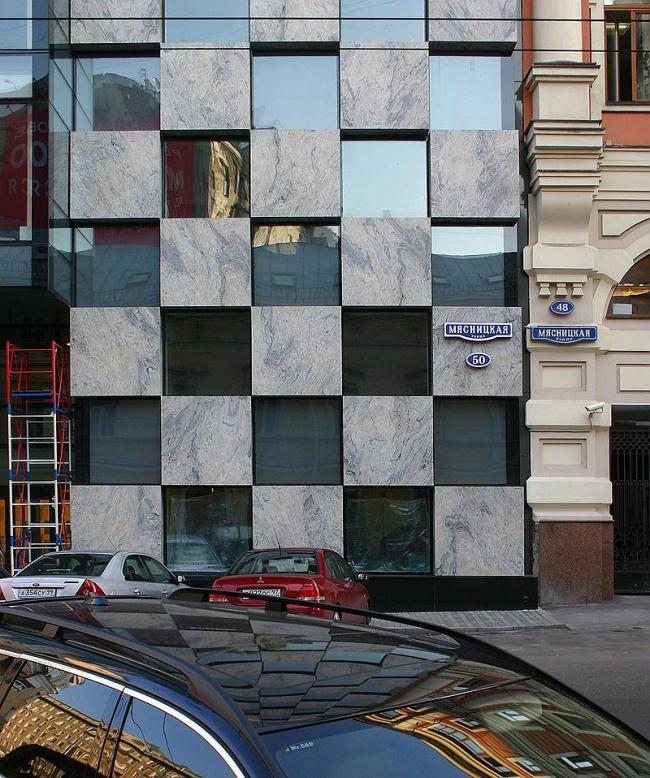 Бизнес-центр «Пульман». Фотография © Николай Малинин