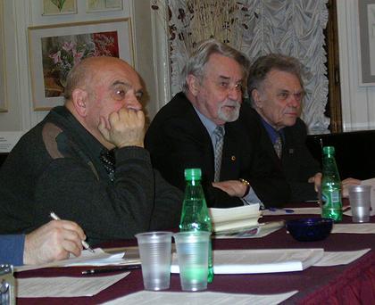 Александр Степанов и Юрий Гнедовский