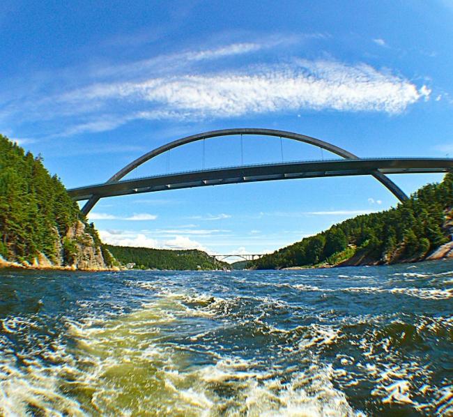 Новый мост через залив Свинеcyнд. Фото: RainerPrang via pixabay.com. Фото находится в общем доступе
