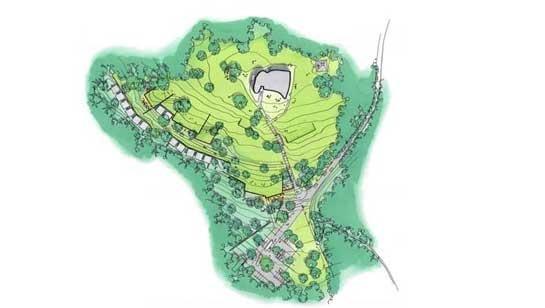 Монастырь ордена кларисс. Проект февраль 2009