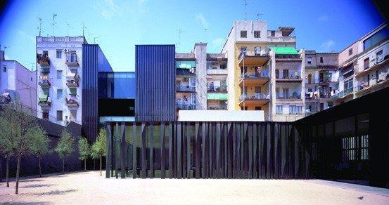RCR Aranda Pigem Vilalta Arquitectes. Социальный комплекс в Барселоне