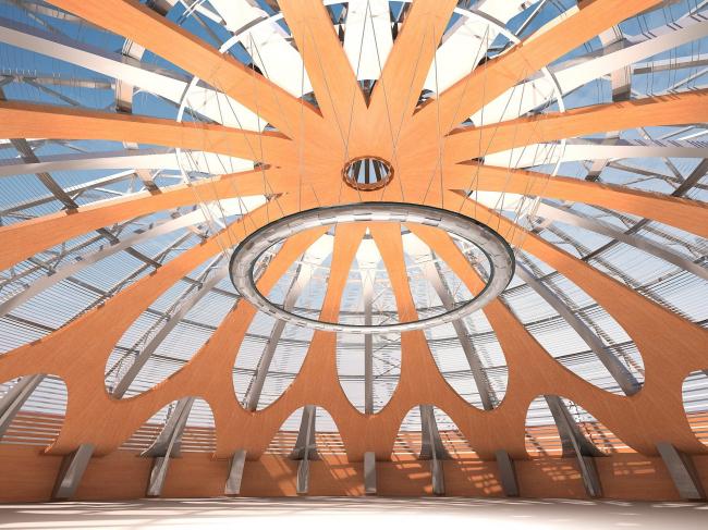 АВК Шереметьево-3. Проект © Архитектурная мастерская «Дмитрий Пшеничников и партнеры»