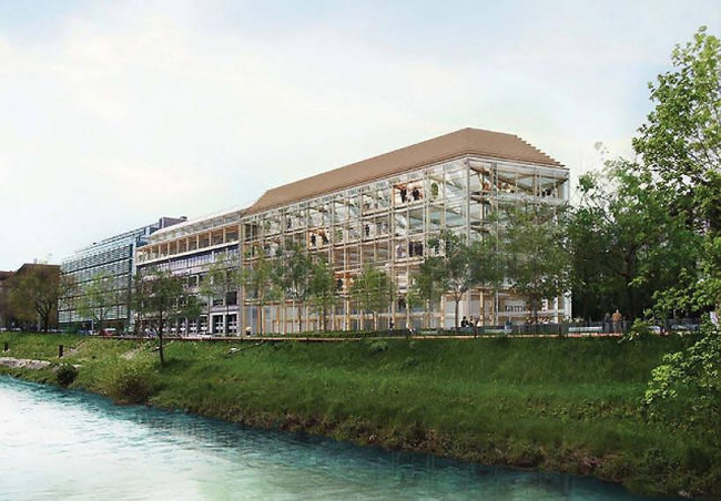 Штаб-квартира медиа-концерна Tamedia © Shigeru Ban Architects